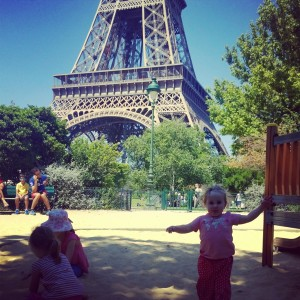 Playground Eiffel Tower