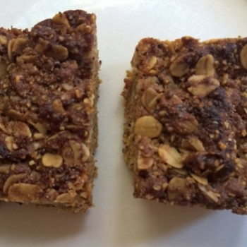 lunchbox idea - nut free muesli bar