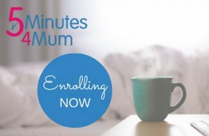 5 Minutes 4 mum online program